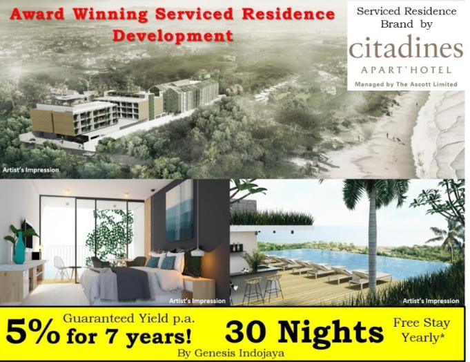 巴厘岛4星级酒店 Citadines Berawa